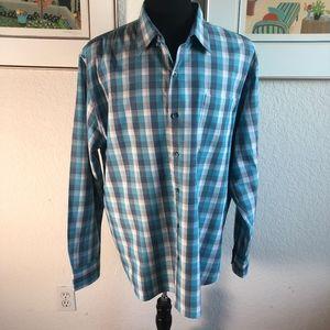 TOMMY Bahama Xtra Large Plaid Long Sleeve Shirt